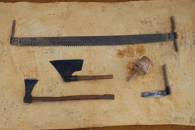 L'outillage des charpentiers