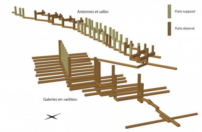 Les arêtes de poisson : éléments de discussion sur la construction d'un  ouvrage antique atypique | Traverse
